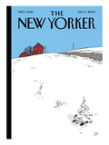 The New Yorker Cover - January 14  2002
