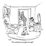 """The wattle fairy came again last night"" - New Yorker Cartoon"