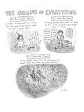 'The Origins of Everything' - New Yorker Cartoon