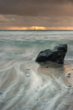Sunset Rock Seascape