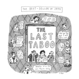 THE LAST TABOO - New Yorker Cartoon