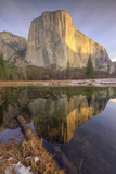 Reflections at El Capitan  Yosemite