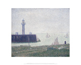 Harbor Entrance at Honfleur  1886