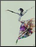 Ballerina Watercolor 3