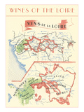 Wines of the Loire  Map