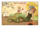 Two Harbors  Mermaid and Cupid