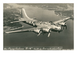 Flying Fortress  B-17E Bomber