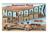 Greetings from Holbrook  Arizona