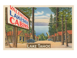 Valentine Lakeside Cabins  Lake Tahoe