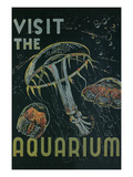 Visit the Aquarium Poster