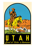 Utah Decal  Wagon Train