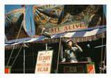 Circus Sideshow Barker