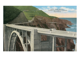 Bixby Creek Bridge  San Simeon Highway  California