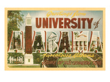 Greetings from University of Alabama  Tuscaloosa