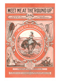 Sheet Music for the Round Up