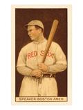 Early Baseball Card  Tris Speaker