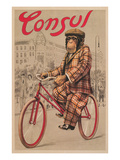 Poster for Consul Bicycles
