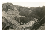 Open Pit Mine  Bisbee  Arizona