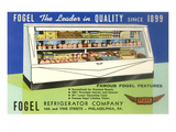 Deli Display Case Advertisement