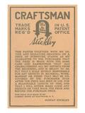 Stickley Craftsman Label