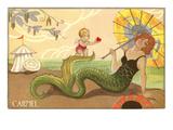 Art Deco Mermaid  Carmel  California