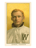 Early Baseball Card  Walter Johnson
