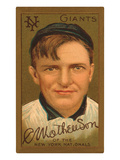 Early Baseball Card  Christy Mathewson