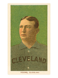 Early Baseball Card  Cy Young