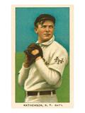 Early Baseball Card  Christy Mathewson