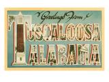 Greetings from Tuscaloosa  Alabama