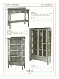 Stickley Table and Cabinets