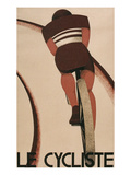 French Cycling Poster  Le Cycliste