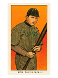 Early Baseball Card  Akin