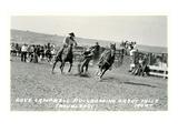 Cowboy Bulldogging  Montana