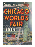 Souvenir of Chicago World's Fair  1934