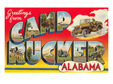 Greetings from Camp Rucker  Alabama