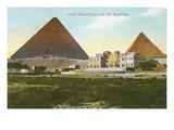 Hotel Mena House  Pyramids  Giza  Egypt
