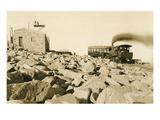 Cog Railway Locomotive  Pike's Peak  Colorado