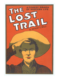 Playbill for the Lost Trail