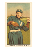 Early Baseball Card  Jensen