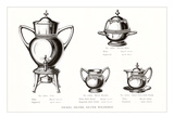 Silver Coffee Urn Set