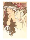 Art Nouveau Semi-Nude