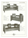 Stickley Oak Settles