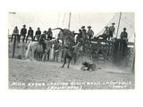 Thrown Bull-Rider  Montana