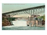 Lower Falls  Spokane  Washington