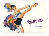 Stardust  High-Kicking Showgirl
