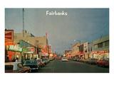 Downtown Fairbanks  Alaska