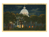 Capitol at Night  Montgomery  Alabama