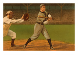Early Baseball Scene  Batter