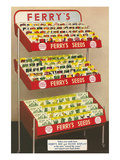 Display Stand for Ferry's Seeds